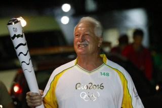 SC - BLUMENAL - 12/07/2016 - REVEZAMENTO DA TOCHA RIO 2016 - Revezamento da Tocha Olimpica para os Jogos Rio 2016. Foto: Rio2016/Andre Mourao